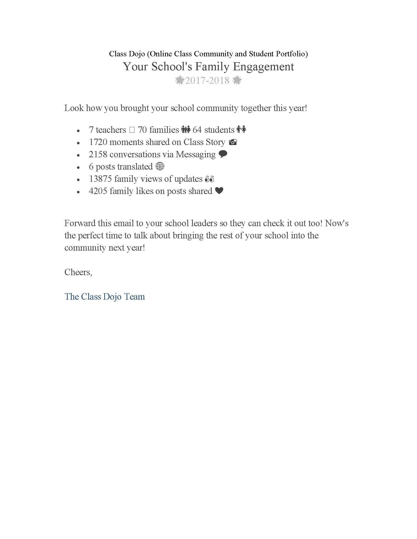 Class Dojo Evidence of Community Engagement.jpg