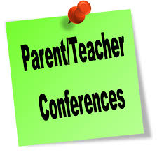 Parent/Teacher Conferences on October 5th and 6th