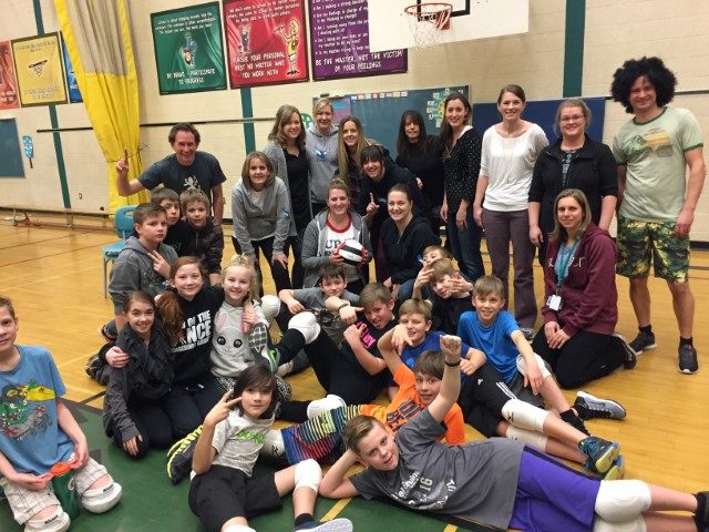 Teachers VS Students Volleyball at PGE!